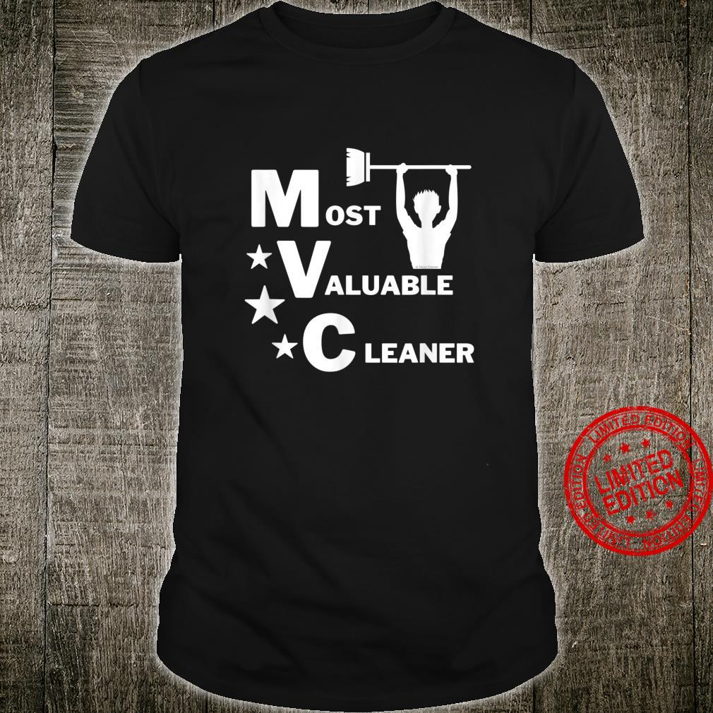 Most Valuable Cleaner Cleaning Lady Appreciation Shirt